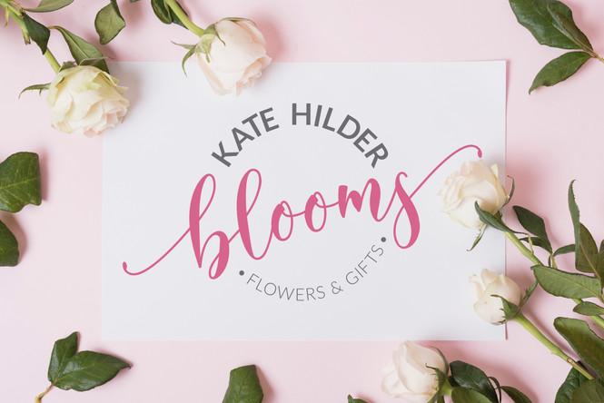 Kate Hilder Blooms florist logo