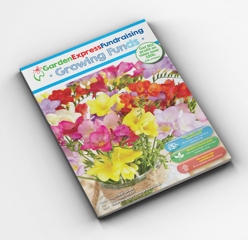 Garden Express Fundraising Book