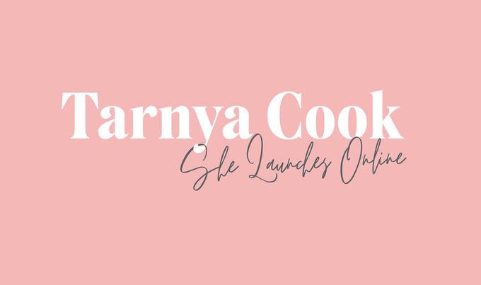 Tarnya Cook text only logo