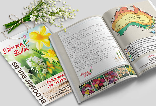 Bloomin Bulbs Growing Book