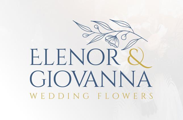 Wedding Flowers florisy floral botanical logo