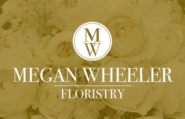 Megan Wheeler Floristry Logo emblem logo