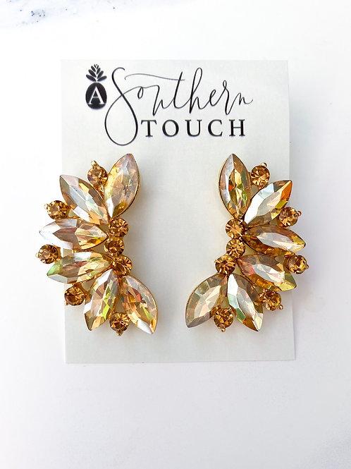 The Lauren Earrings - gold