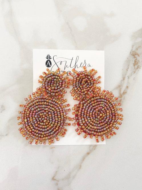 Sunburst Earrings- rainbow