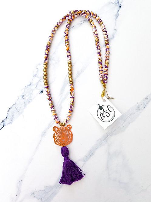 The Hattie Tiger Necklace