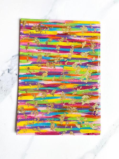 5x7 Colorful Canvas