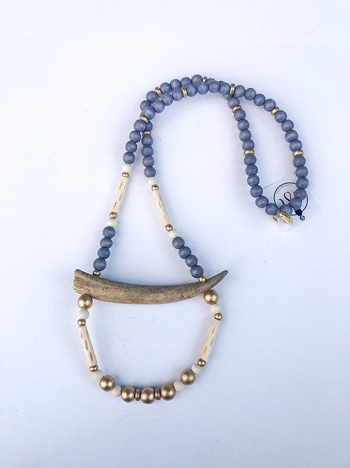 The McKenna Antler Necklace