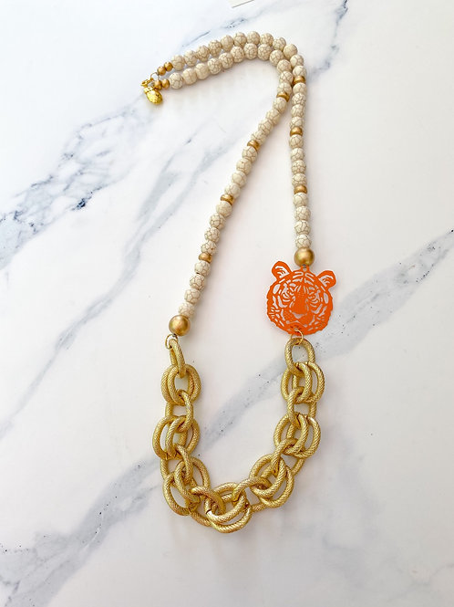 The Amanda Tiger Necklace