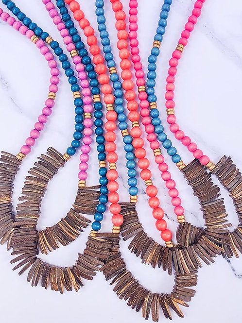 The Slater Spike Necklace