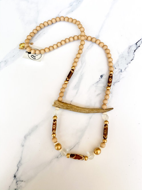 The Maurine Antler Necklace