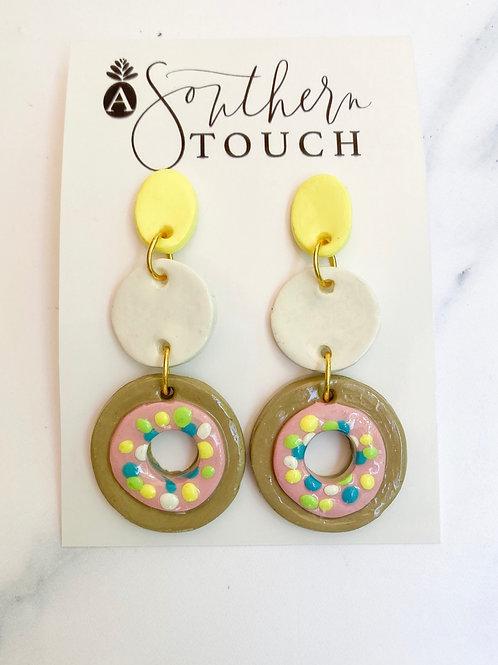 Donut Clay earrings