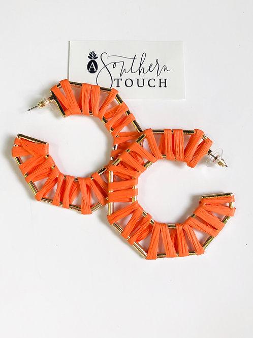 Orange Wrapped Hoops