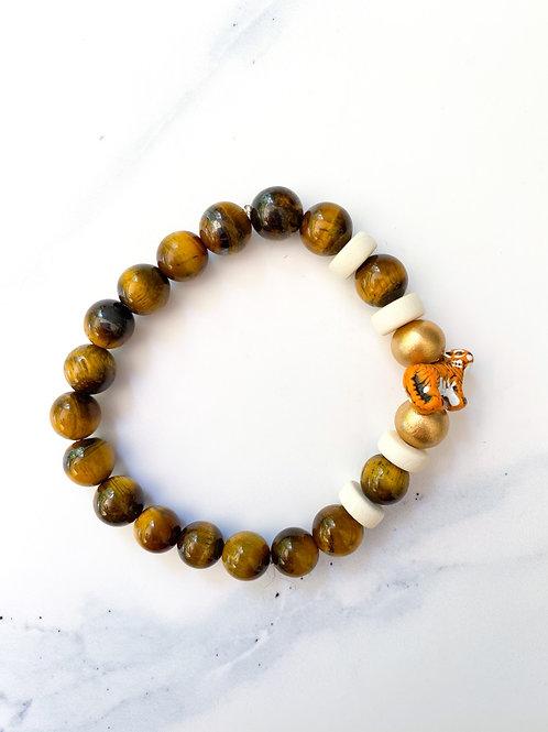 Tiger Figure Bracelet