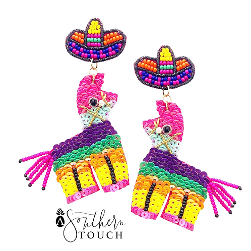 Piñata earrings