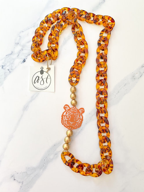 The Deona Tiger Necklace