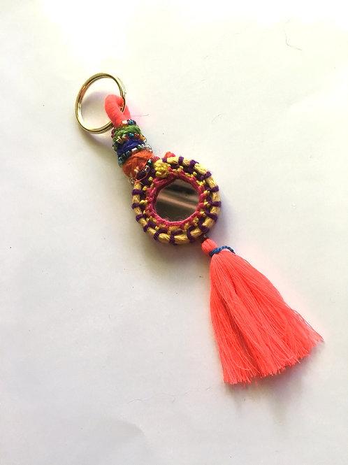 Boho Tassel Keychain