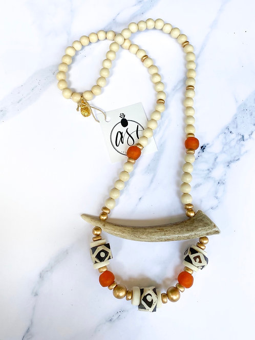 The Marshall Antler Necklace