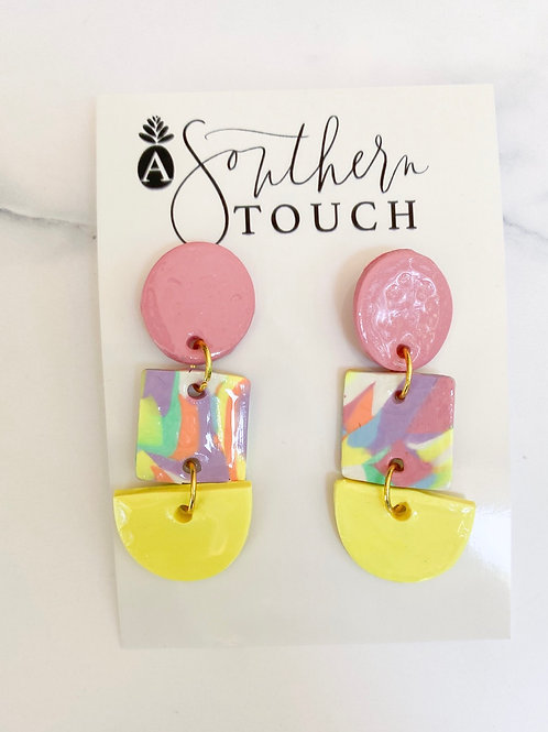 Pastel Collection Clay earrings