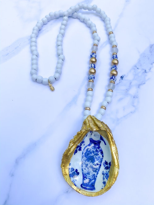 The Loring Oyster Necklace