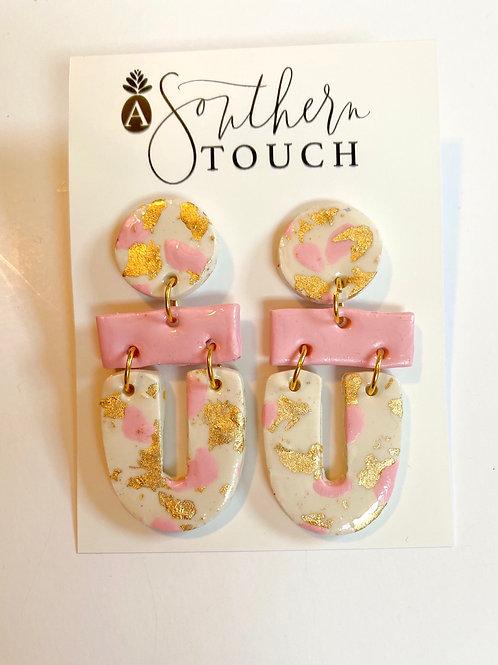 Valentine's clay earrings 5