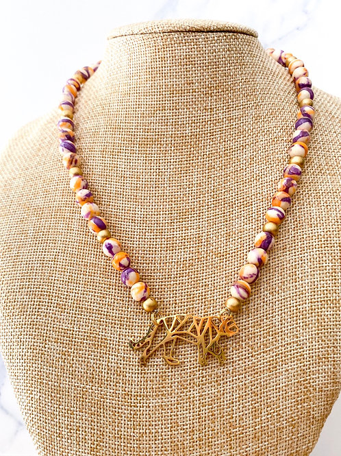 The Betsy Tiger  Necklace