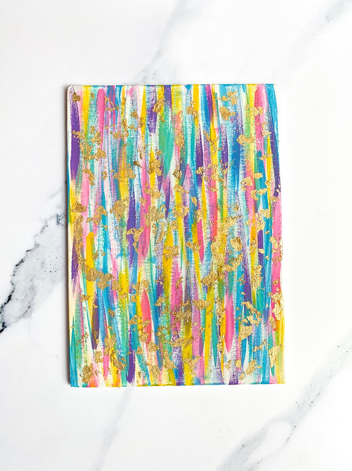 5x7 Colorful Canvas