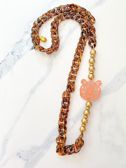 The Iris Tiger Necklace