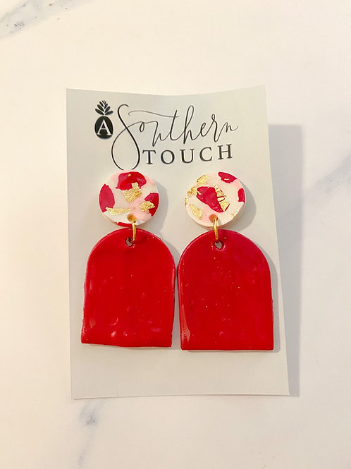 Valentine's Camo Top- Salone Shape