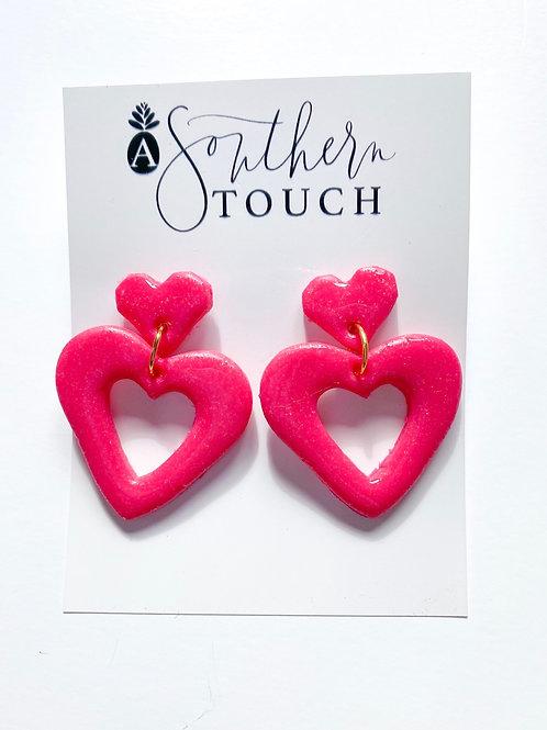Valentine's Clay Earrings 6