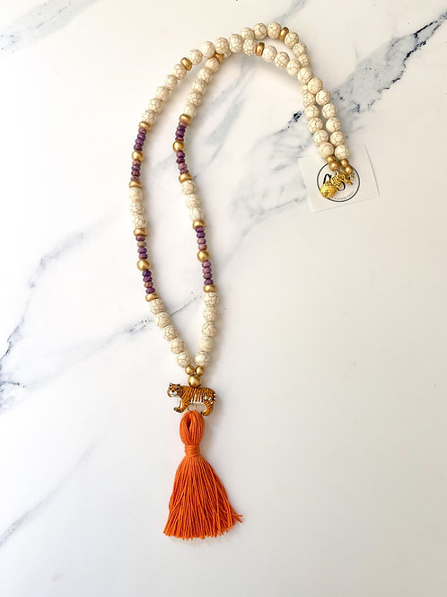 The Addison Tiger Necklace