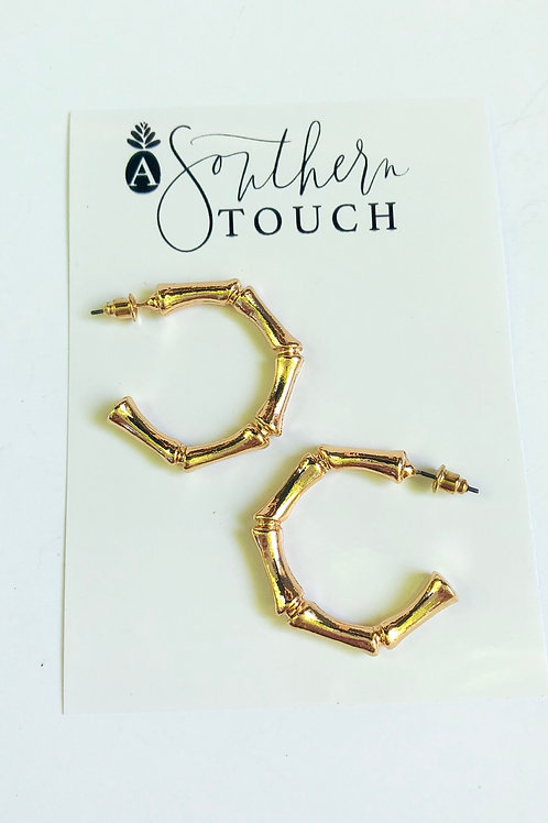 Bamboo hoops - size small