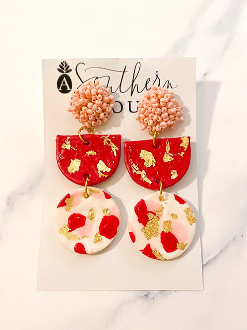Valentine's Clay Earrings