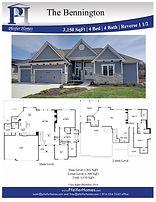 Bennington Plan Page Lot BB6 Color Photo