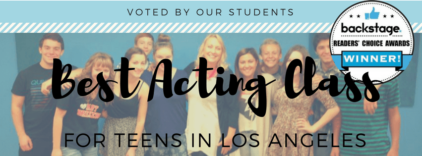 screen teens, reader choice awards, backstage, diane christiansen coaching, best acting class for teenagers in los angeles, teen acting class, best acting class for teens in la, burbank acting class, audition, casting, how to be an actor, advanced class for teen actors, best acting teacher, acting coach