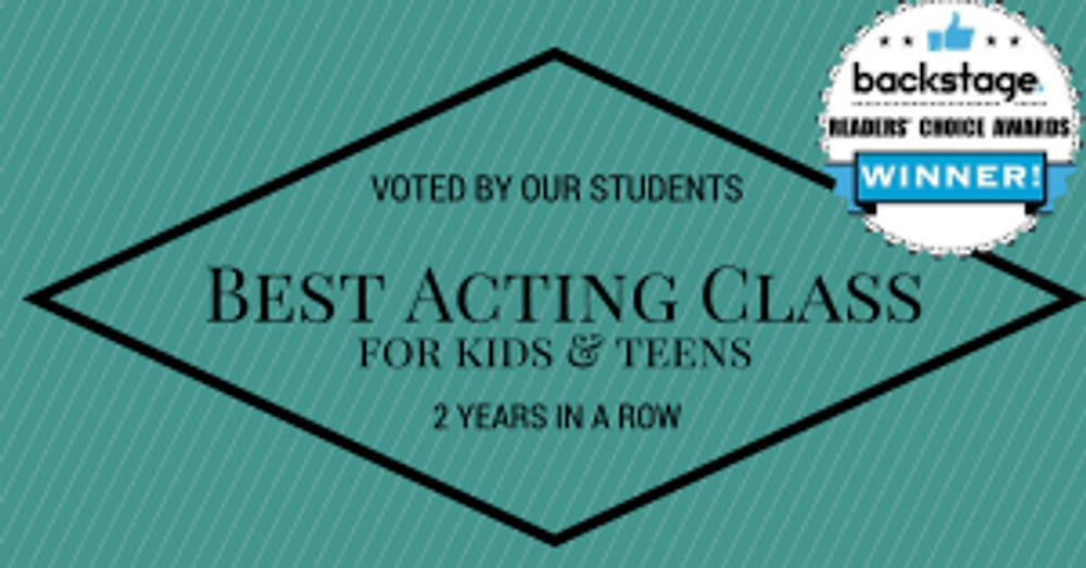 voted by our students: best acting class for kids