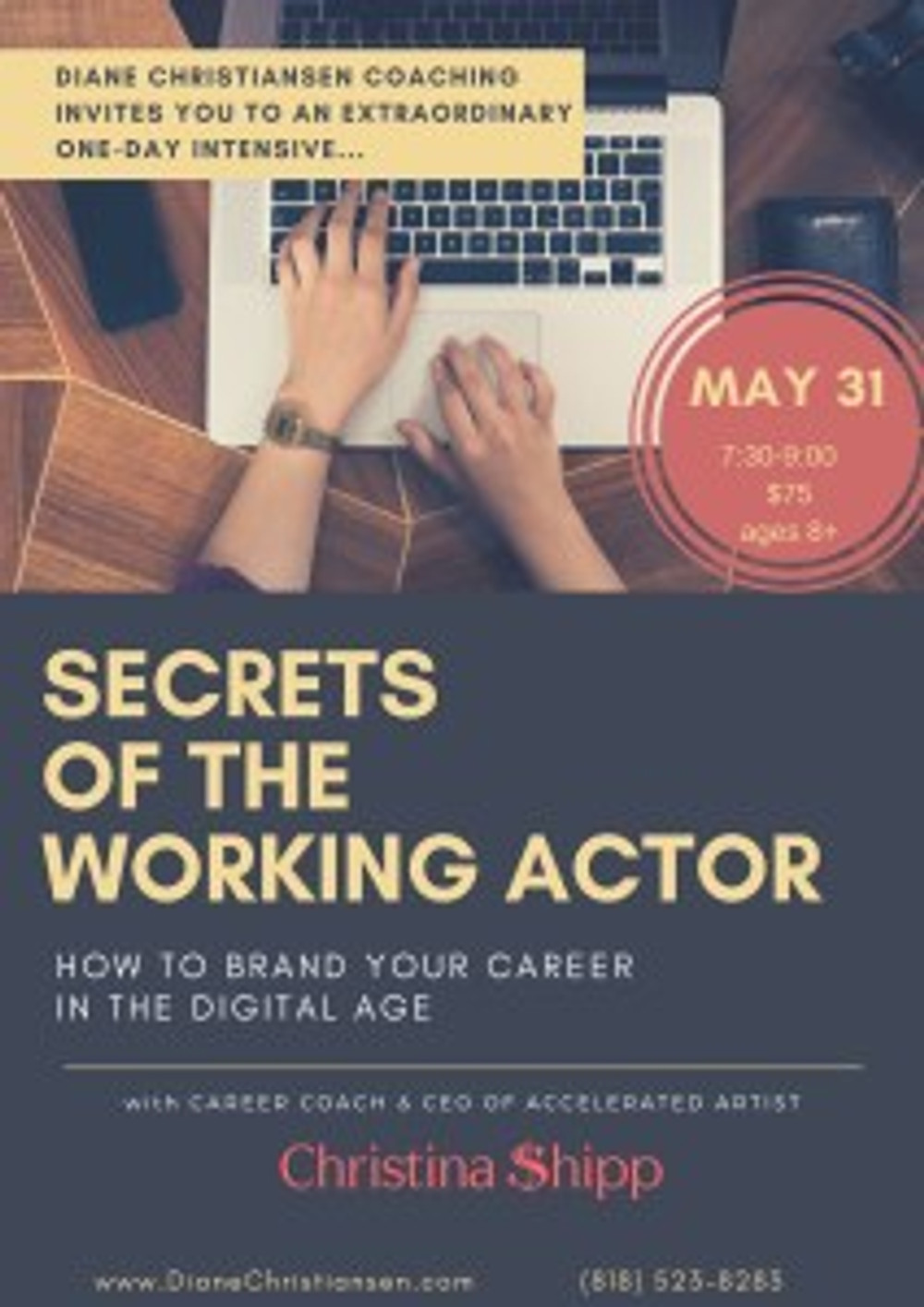 career branding, christina shipp, accelerated artist, summer acting class, acting workshops for actors of all ages, the dailies, career branding, summer acting class, media, classes for young actors, casting director, how to be make up artist, publicist, best class in la, teen actors