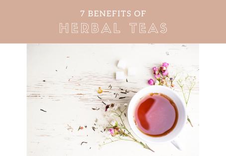 7 Benefits Of Herbal Teas