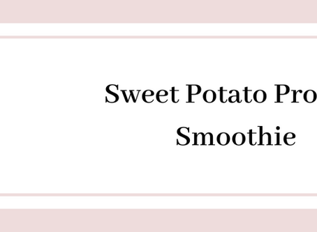 Sweet Potato Protein Smoothie