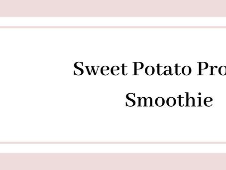 Sweet Potato Protein Smoothie