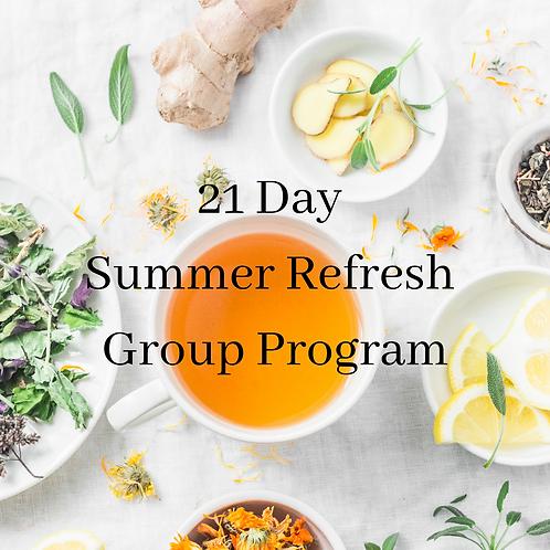 Summer Refresh Group Program