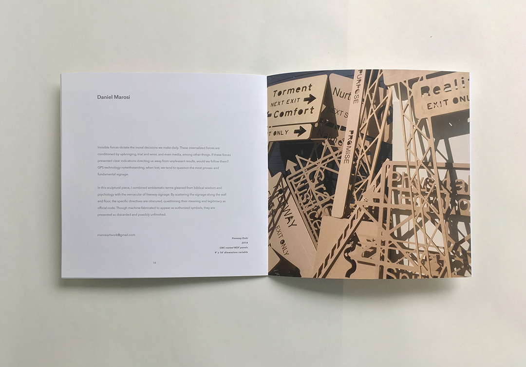 Frost Art Museum catalog design