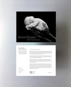 Anne Geddes Exhibition promotions
