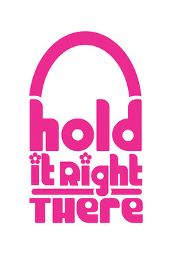 HOLD IT RIGHT THERE logo