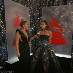 Latin Grammy Backstage Set Design
