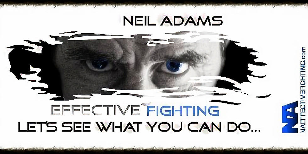 Neil Adams MBE Effective Fighting Seminar