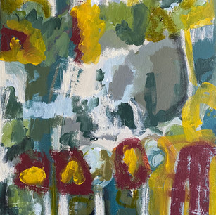 """Botanical Dream 3"" (on canvas)"