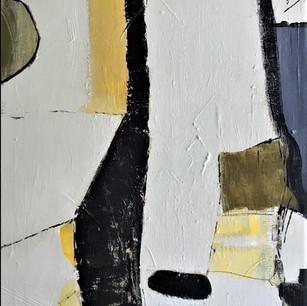 """Sentinel""  (on canvas board)"