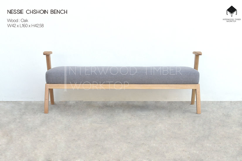 Nessie Cushion Bench