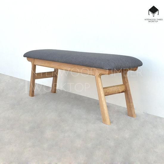 L-Slim Cushion bench