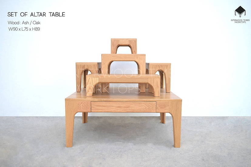 Set of Altar table (หมู่ 5)